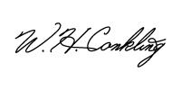 Bill Conkling Signature