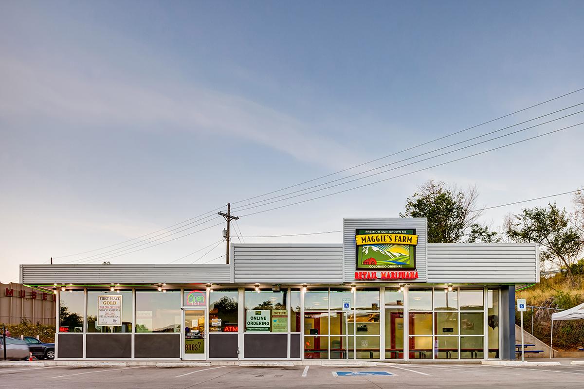Maggie's Farm marijuana dispensary, Manitou Springs, CO